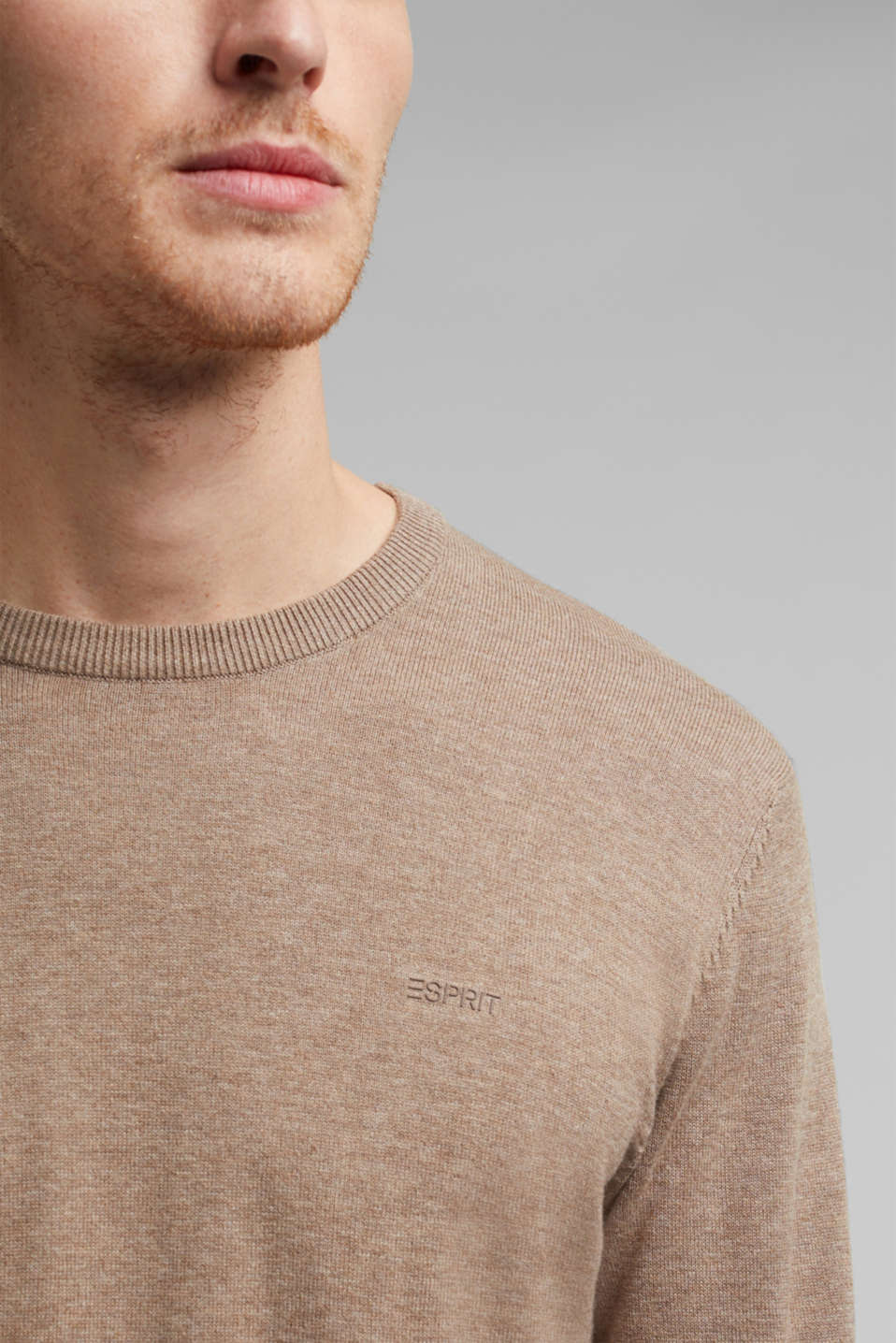 Sweaters, BEIGE, detail image number 2
