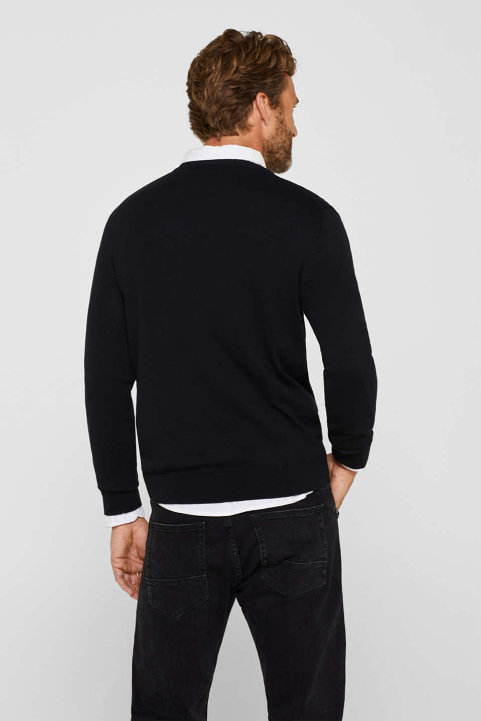 Sweaters, BLACK, detail image number 3
