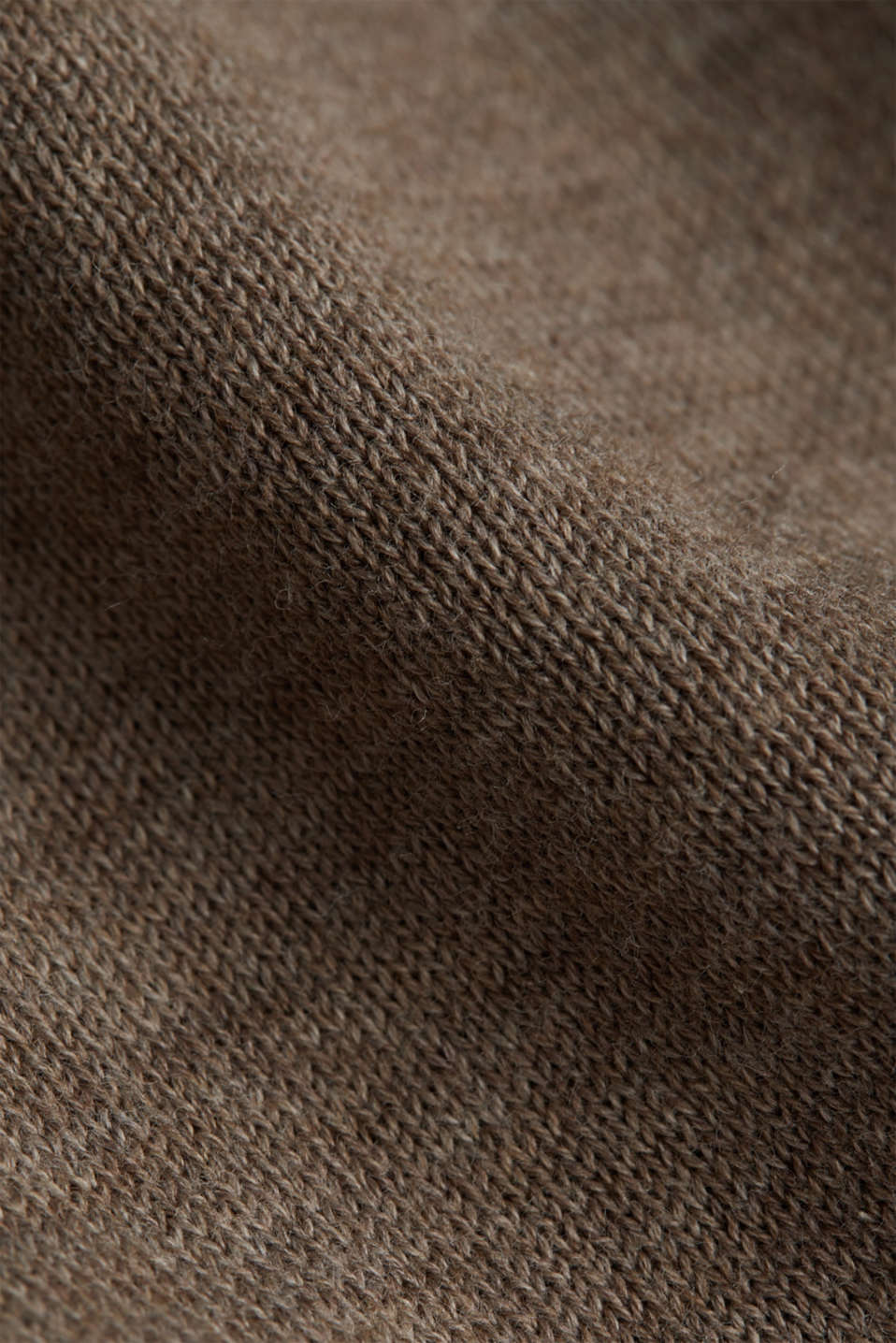 V-neck jumper, 100% cotton, BEIGE, detail image number 4