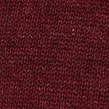 V-Neck-Pullover, 100% Baumwolle, DARK RED, swatch