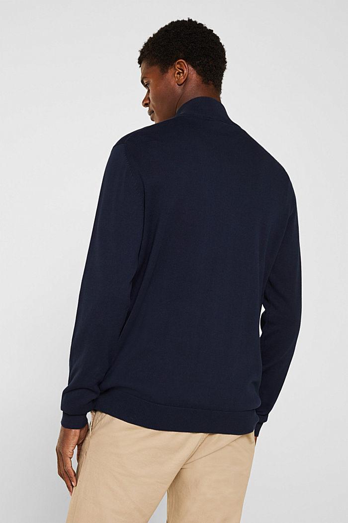 Cardigan aus 100% Baumwolle, NAVY, detail image number 3