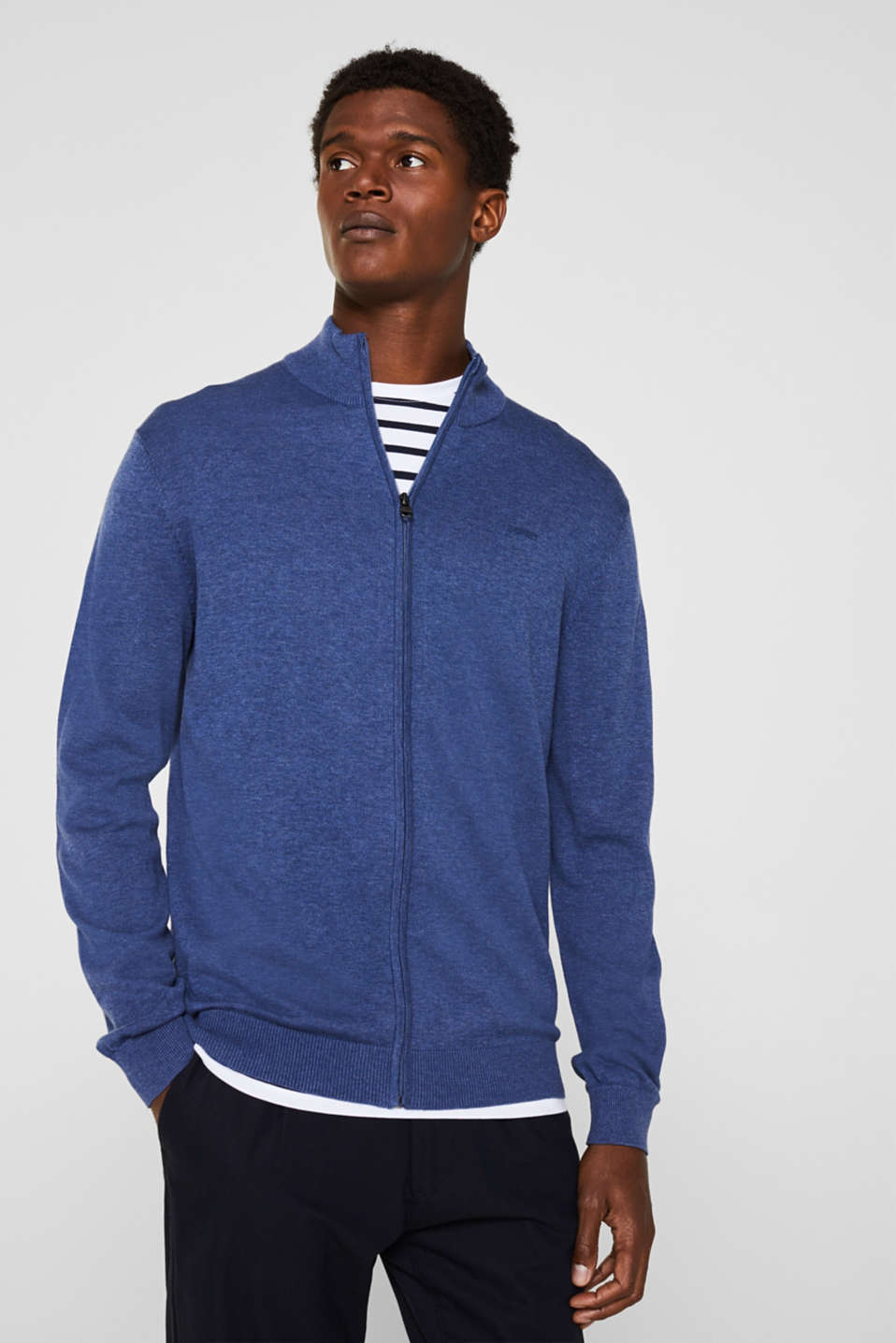 Esprit - Cardigan in 100% cotton