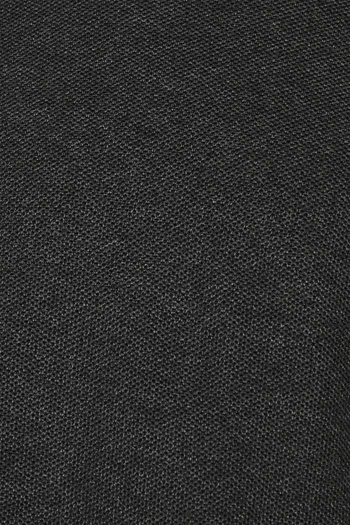 Piqué-Pullover, 100% Baumwolle, DARK GREY, detail image number 2