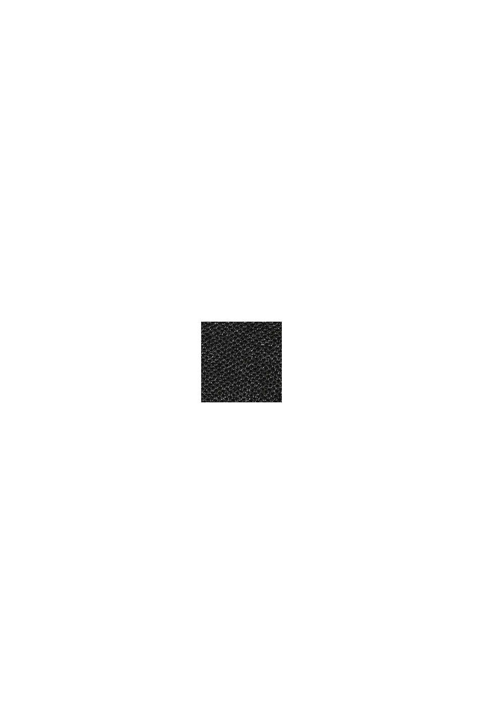 Piqué-Pullover, 100% Baumwolle, DARK GREY, swatch