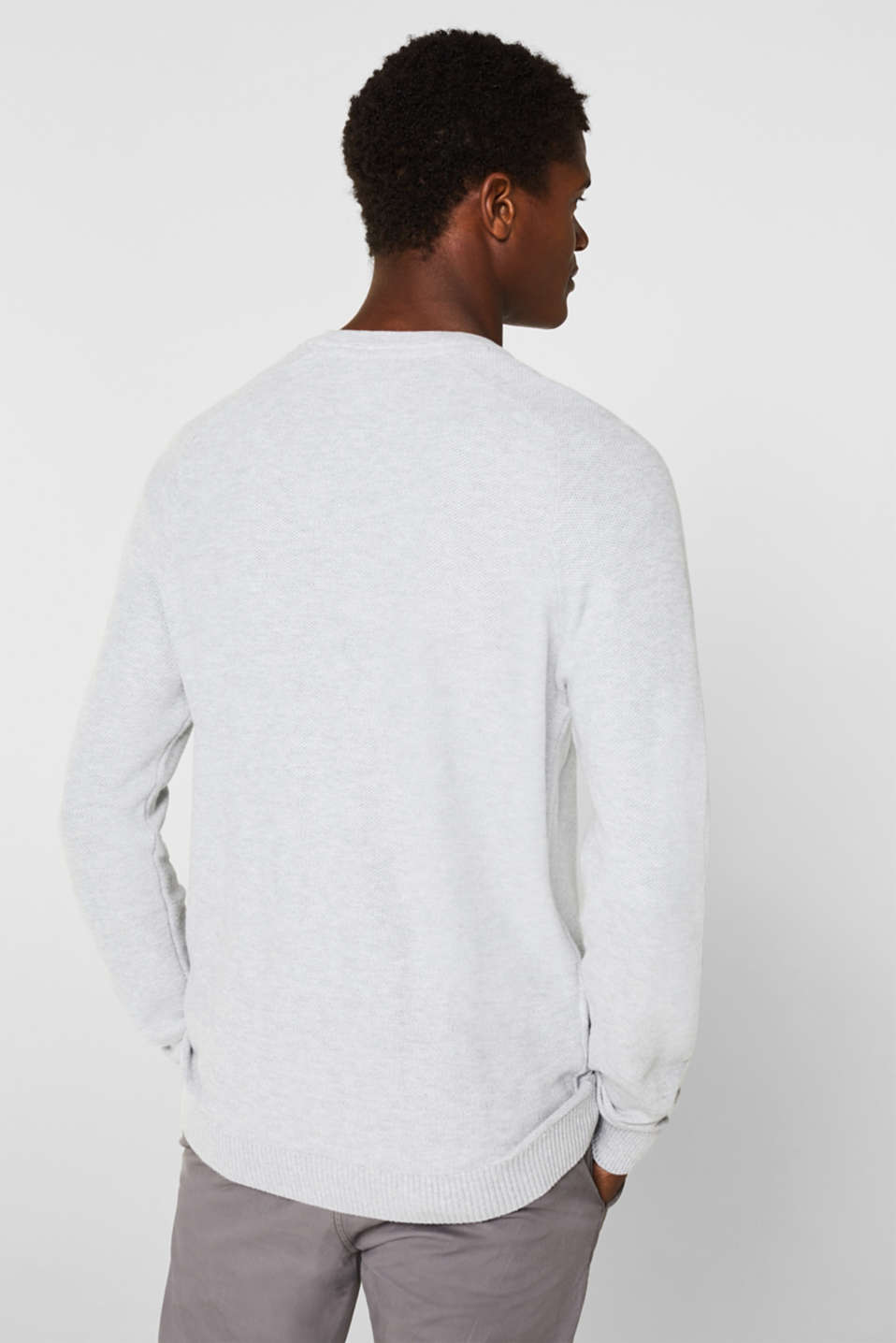 Sweaters, LIGHT GREY, detail image number 3