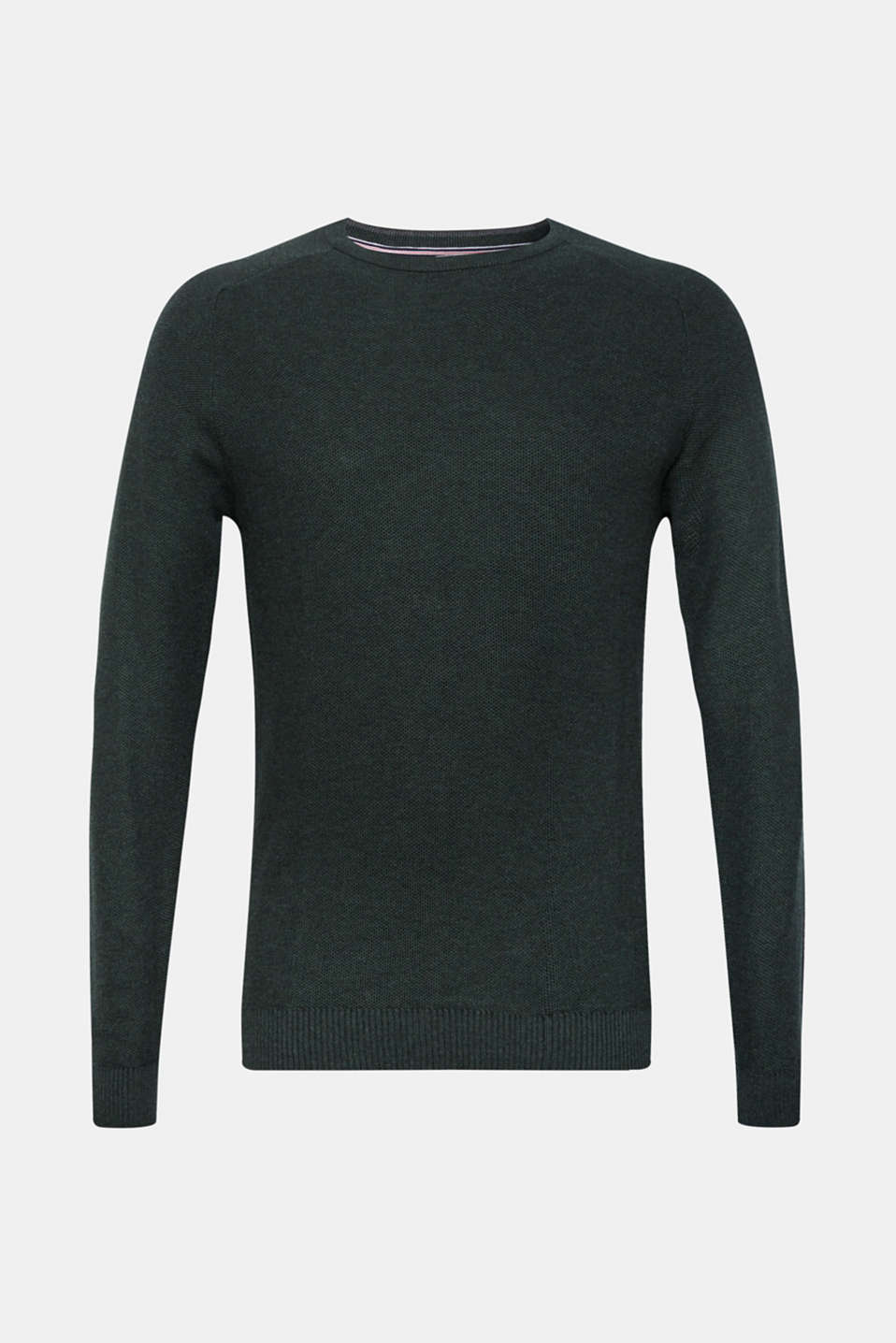 Sweaters, DARK GREEN, detail image number 5