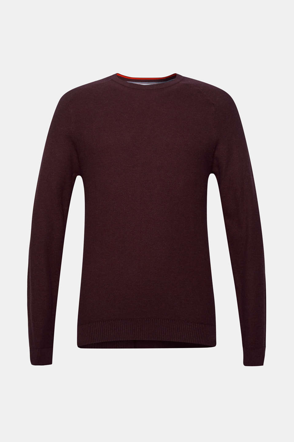 Sweaters, BORDEAUX RED, detail image number 6