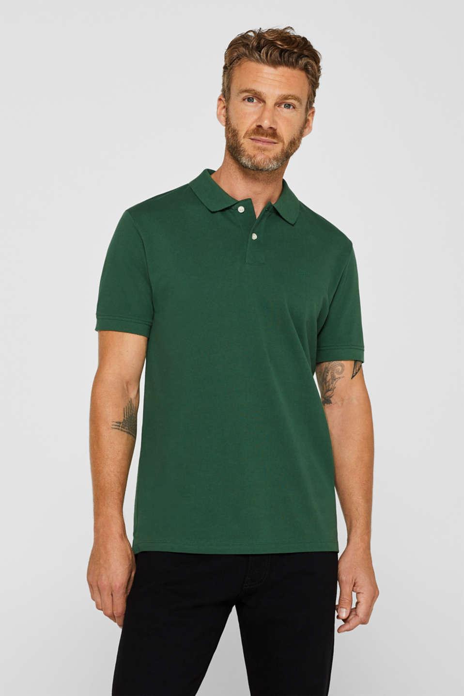 Polo shirts, DARK GREEN, detail image number 0
