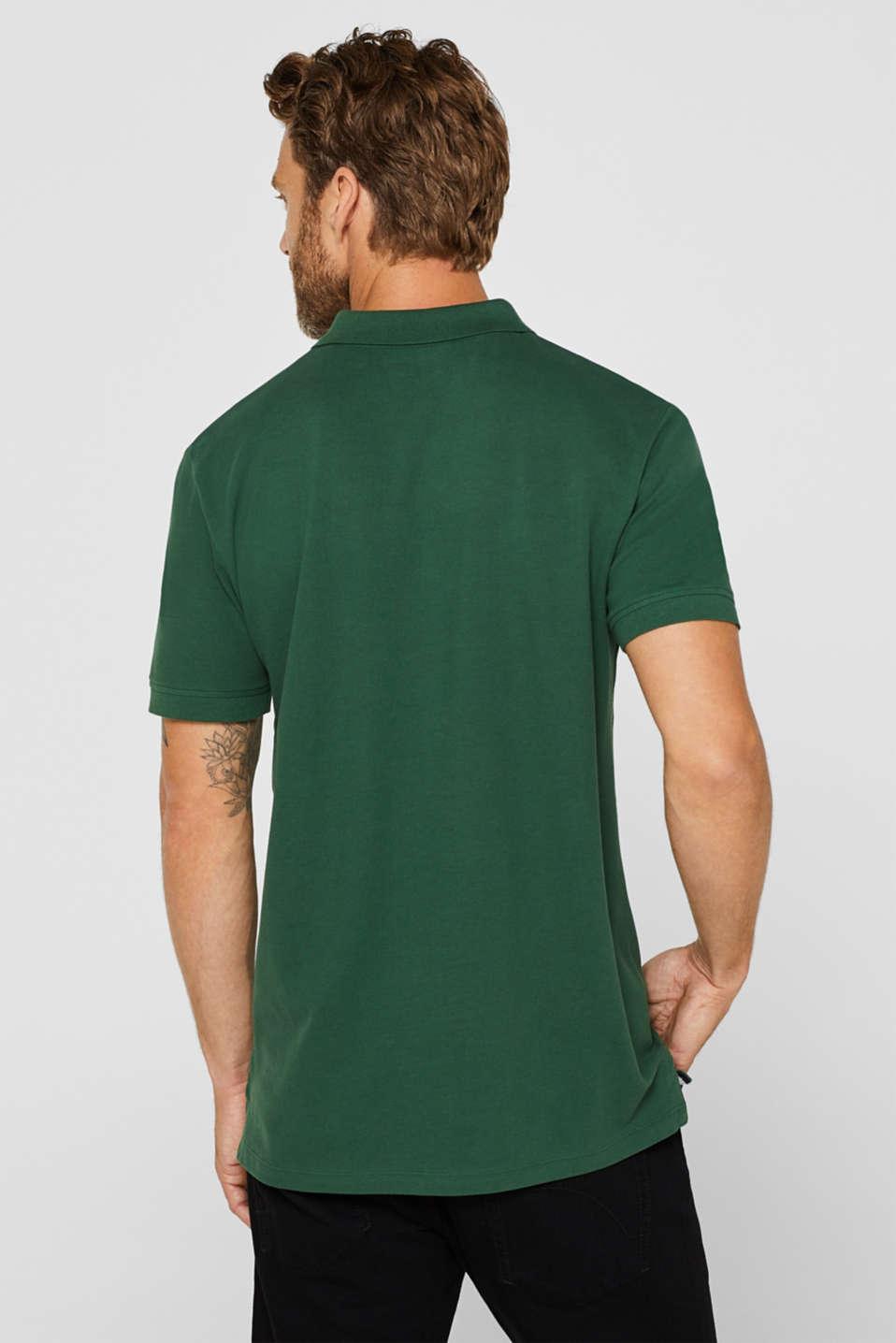 Polo shirts, DARK GREEN, detail image number 3