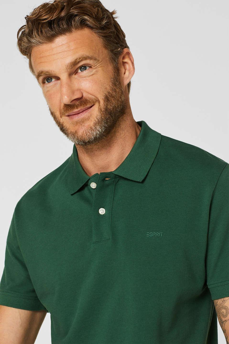Polo shirts, DARK GREEN, detail image number 6