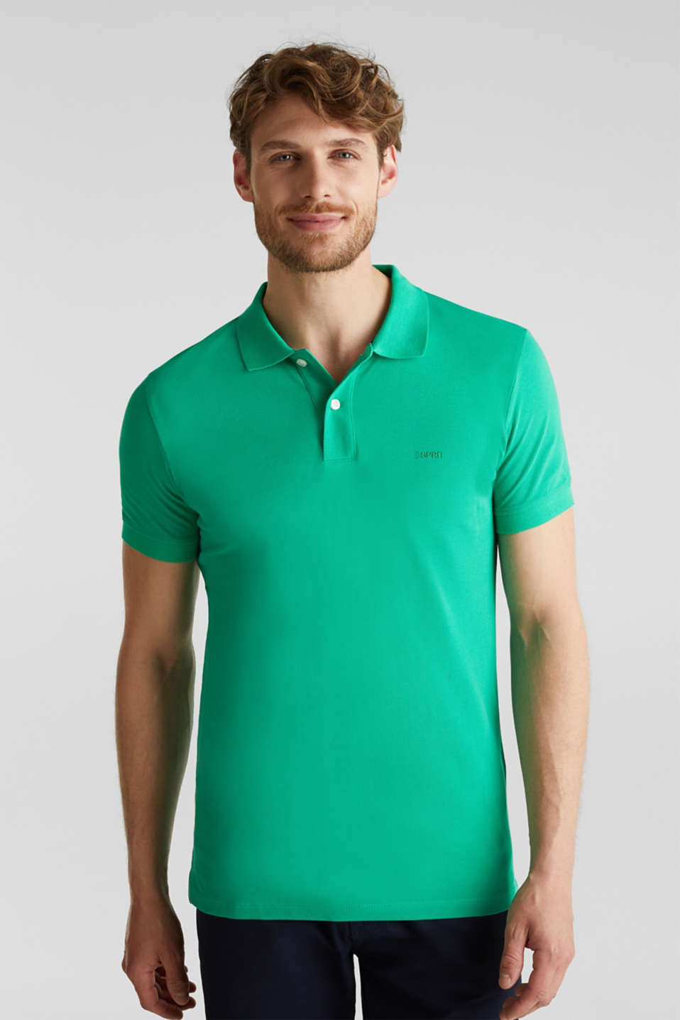 Polo shirts, GREEN, detail image number 0
