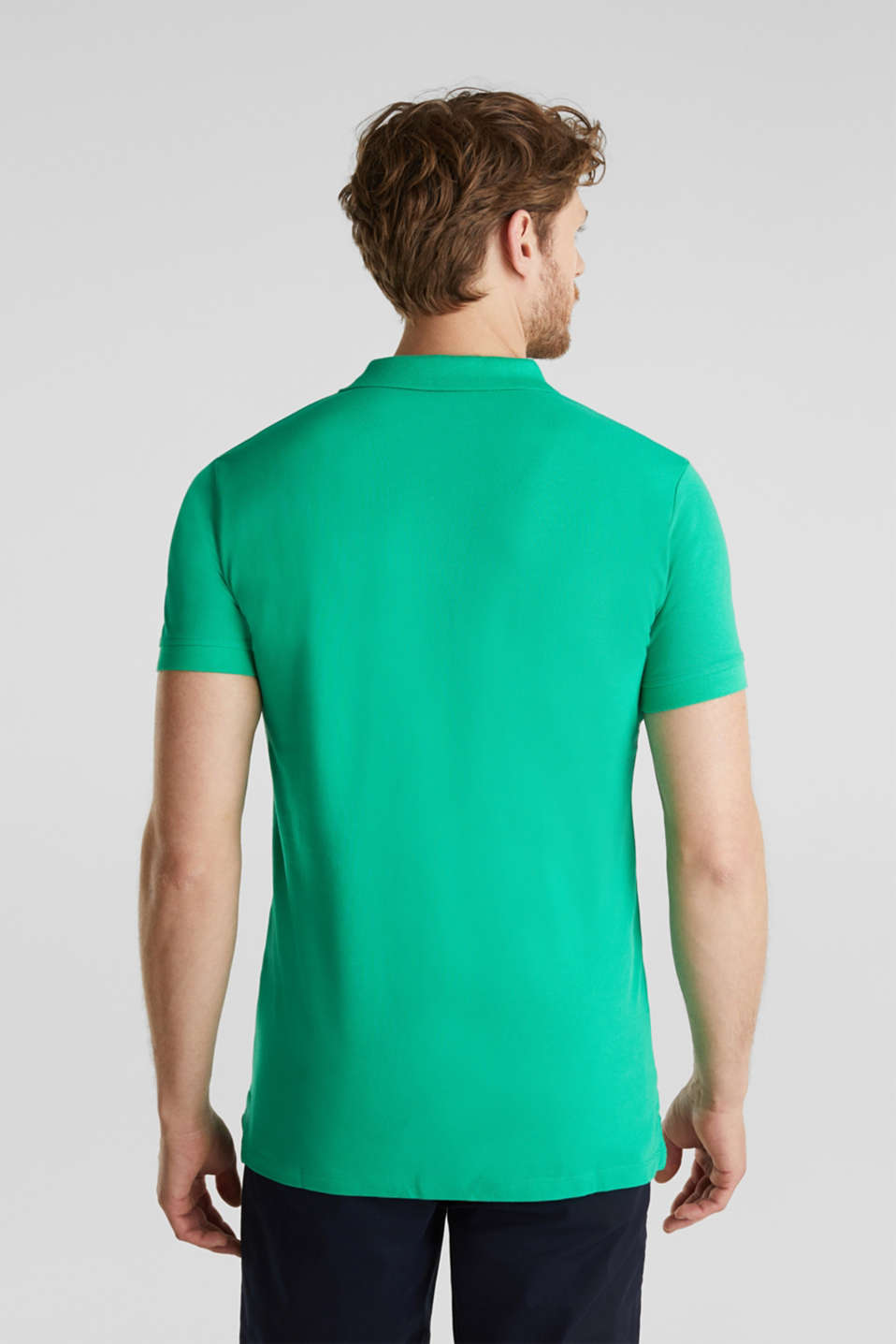 Polo shirts, GREEN, detail image number 3