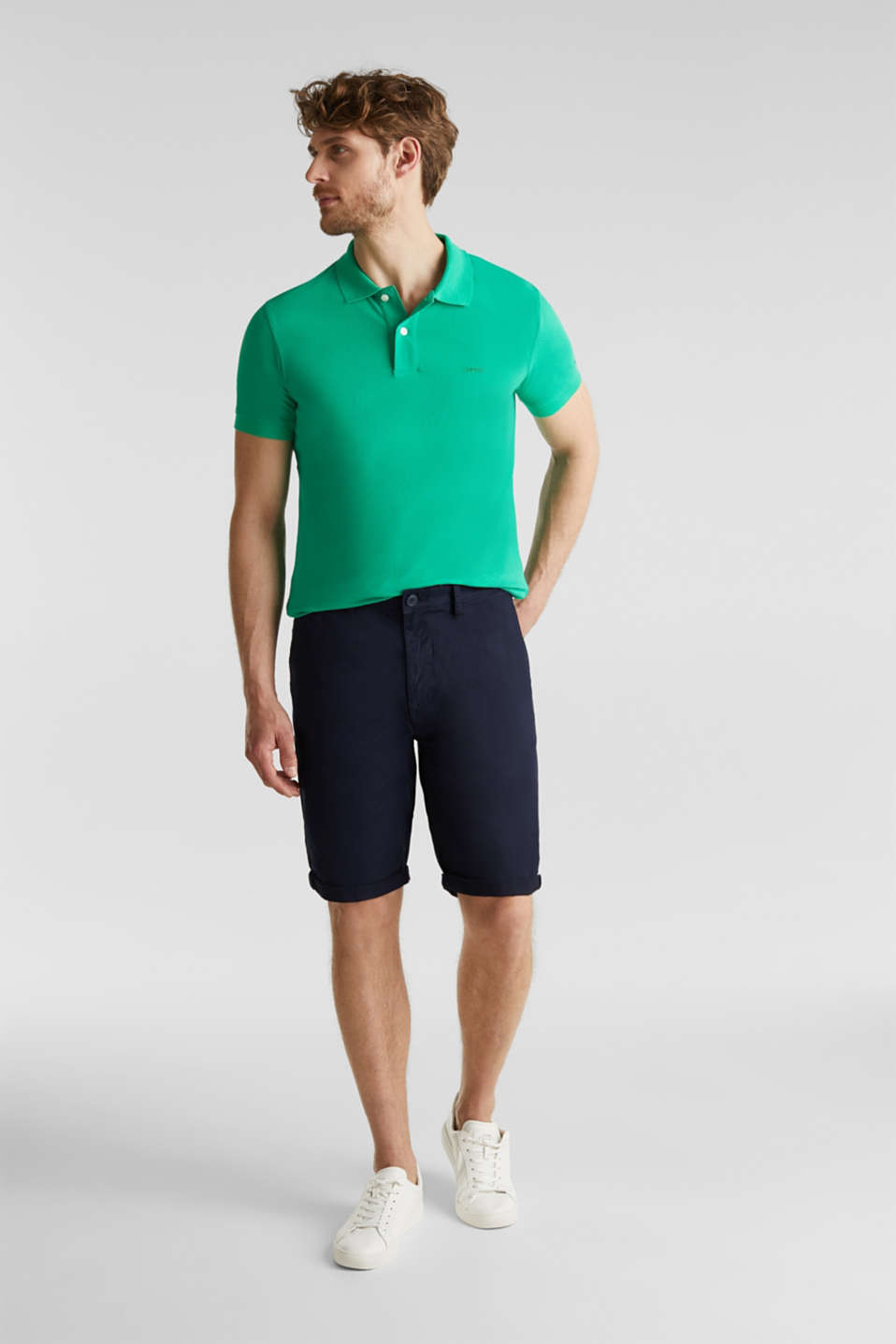 Polo shirts, GREEN, detail image number 2