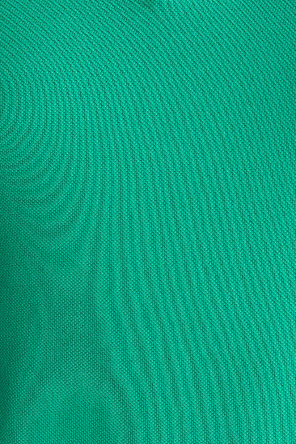 Polo shirts, GREEN, detail image number 4