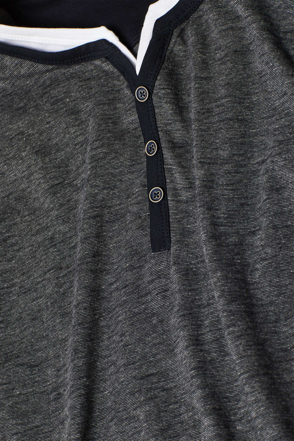 T-Shirts, ANTHRACITE, detail image number 4