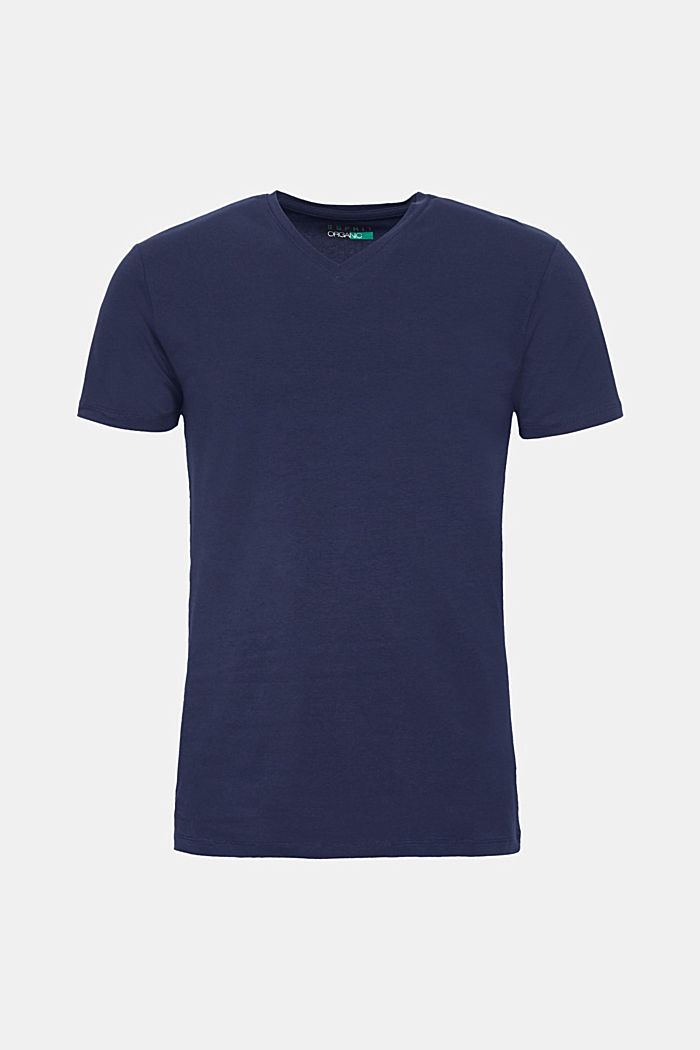 Jersey T-shirt in stretch cotton