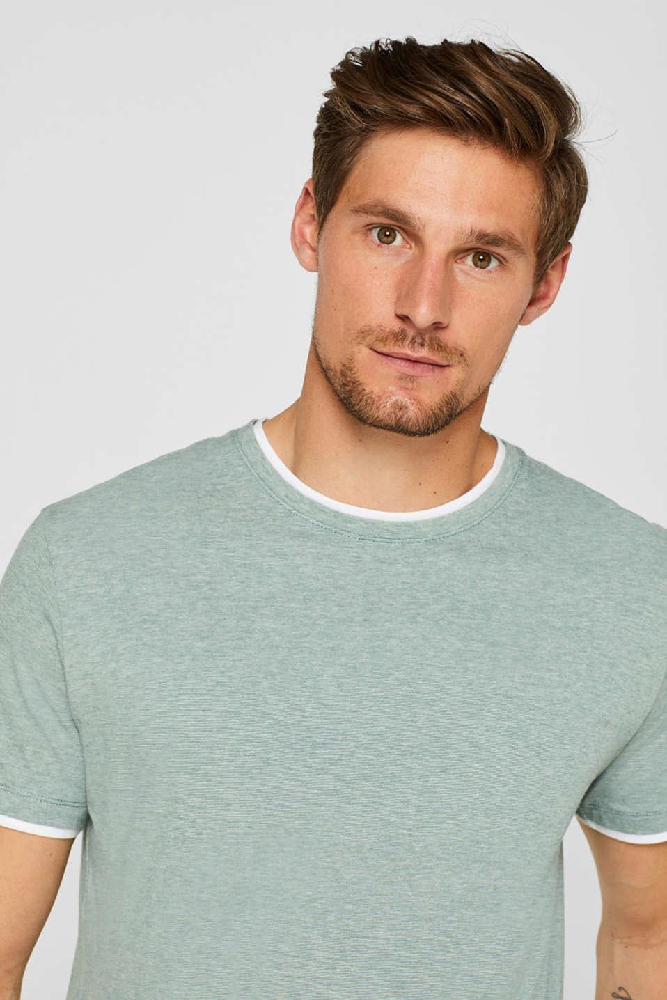 T-Shirts, GREEN, detail image number 6