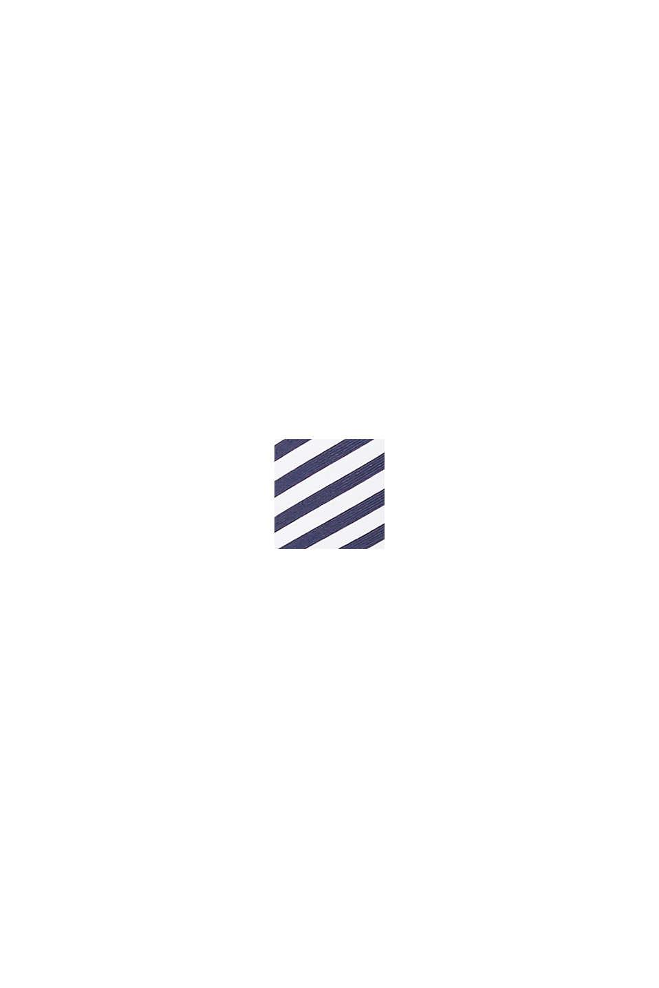 Push-Up-Top mit Streifen-Print, NAVY, swatch