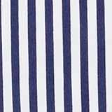 Padded swimsuit with stripes and frills, NAVY, swatch