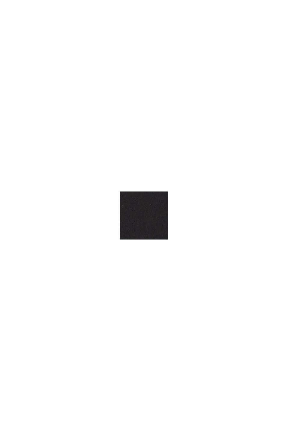 Badedragt med farveharmonisk logoprint, BLACK, swatch