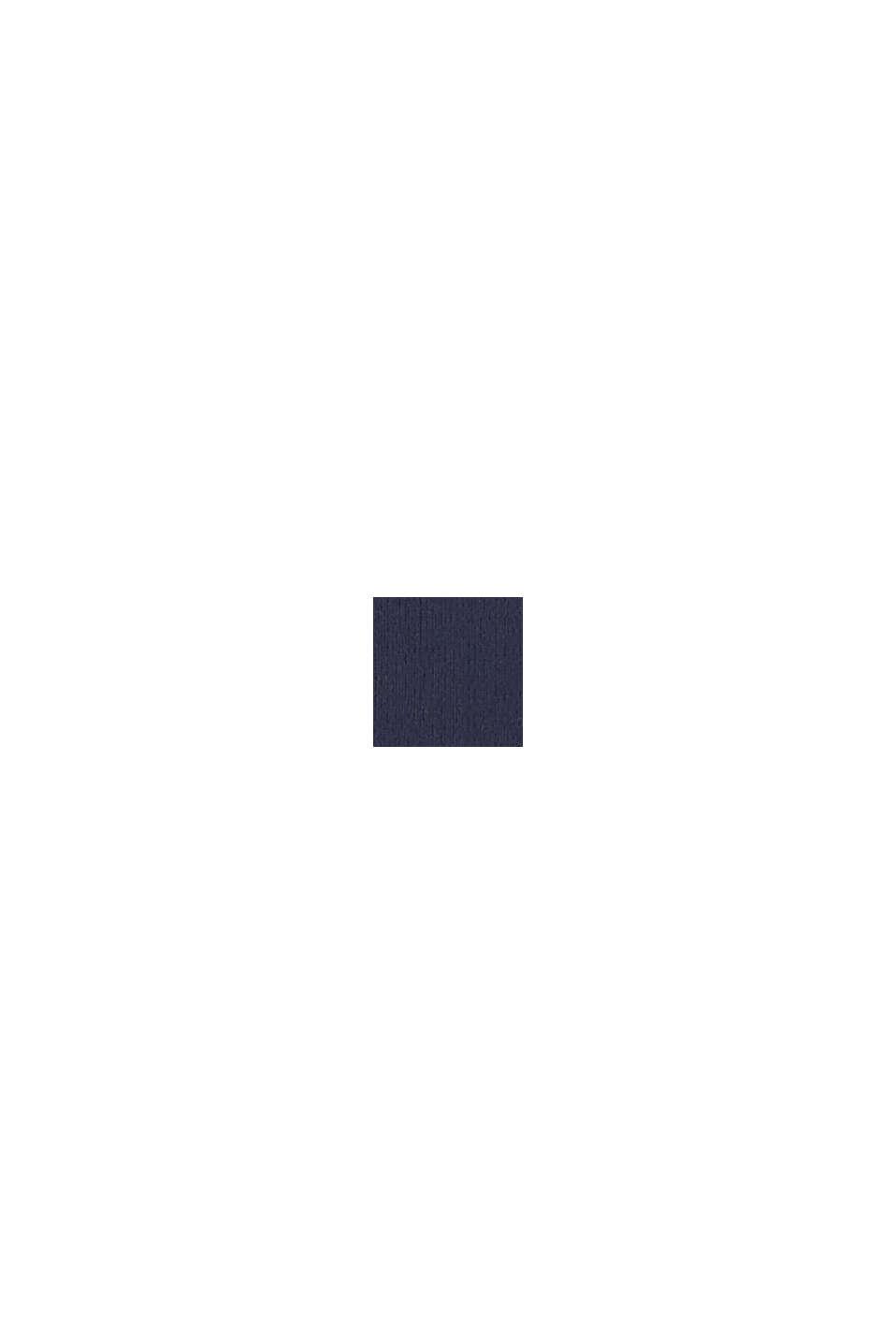 Badedragt med farveharmonisk logoprint, NAVY, swatch