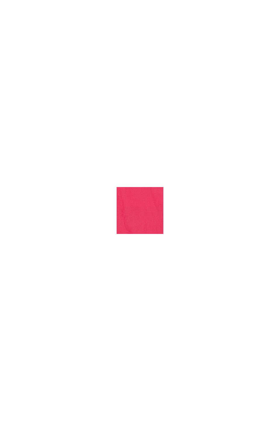 Badedragt med farveharmonisk logoprint, PINK FUCHSIA, swatch