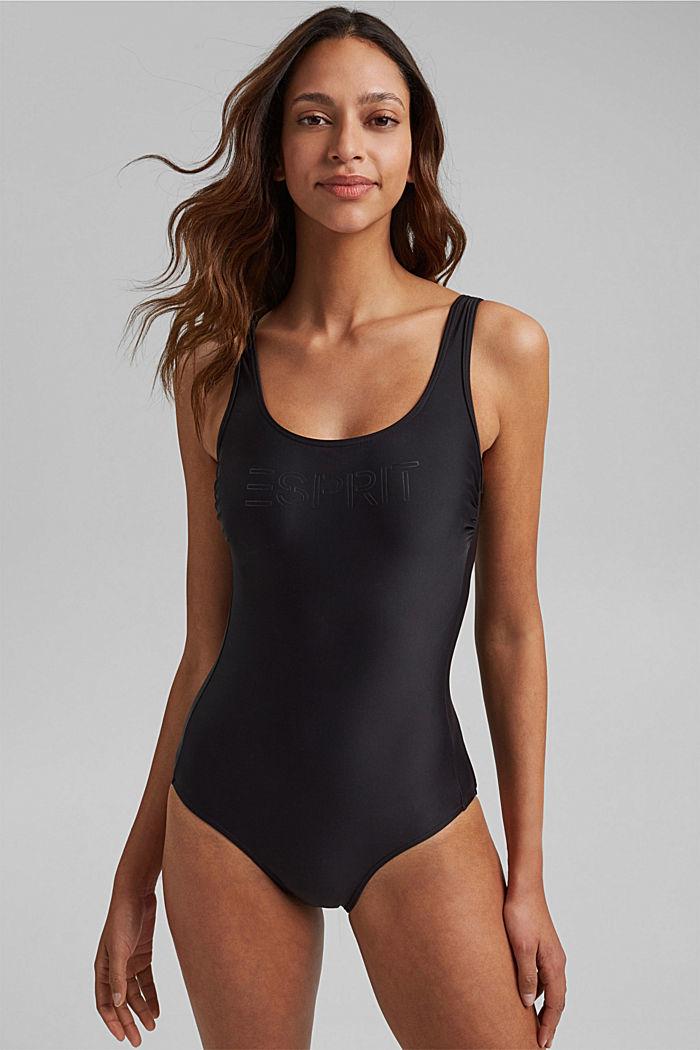 Badeanzug mit verdeckten Bügeln