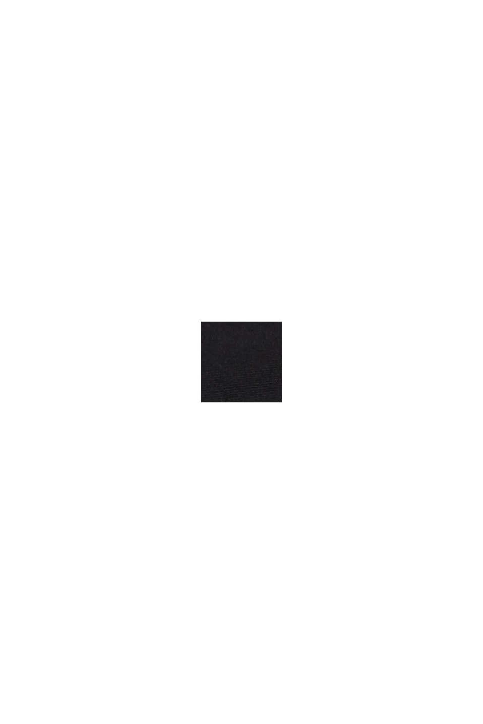 Midi-Slip im Basic-Look, BLACK, swatch