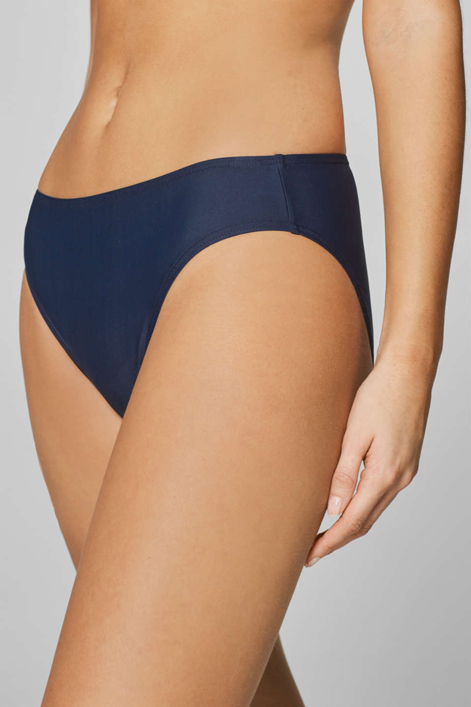 Midi briefs in a basic design, NAVY, detail image number 3