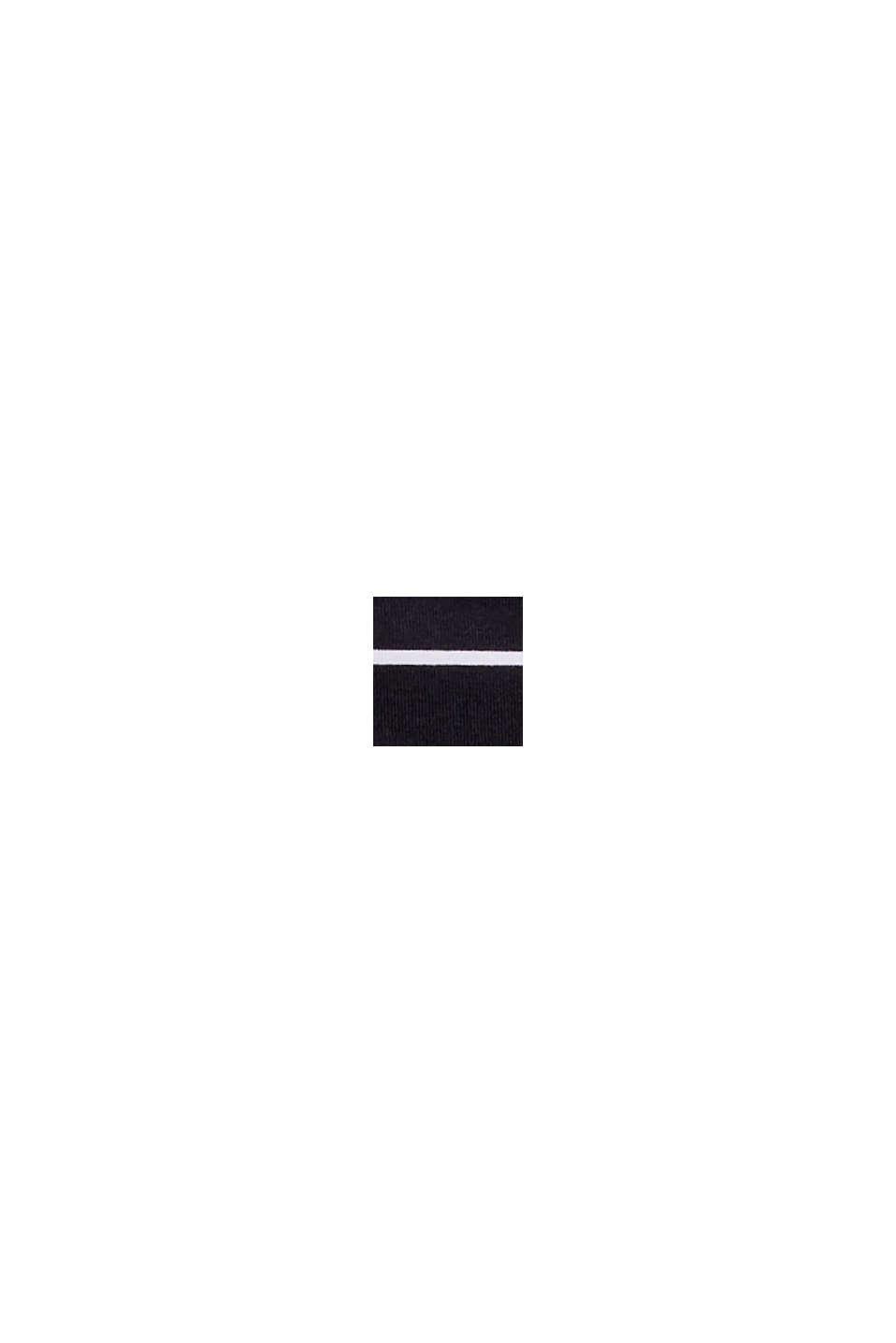 Mini-Slip mit Streifen-Dessin, BLACK, swatch