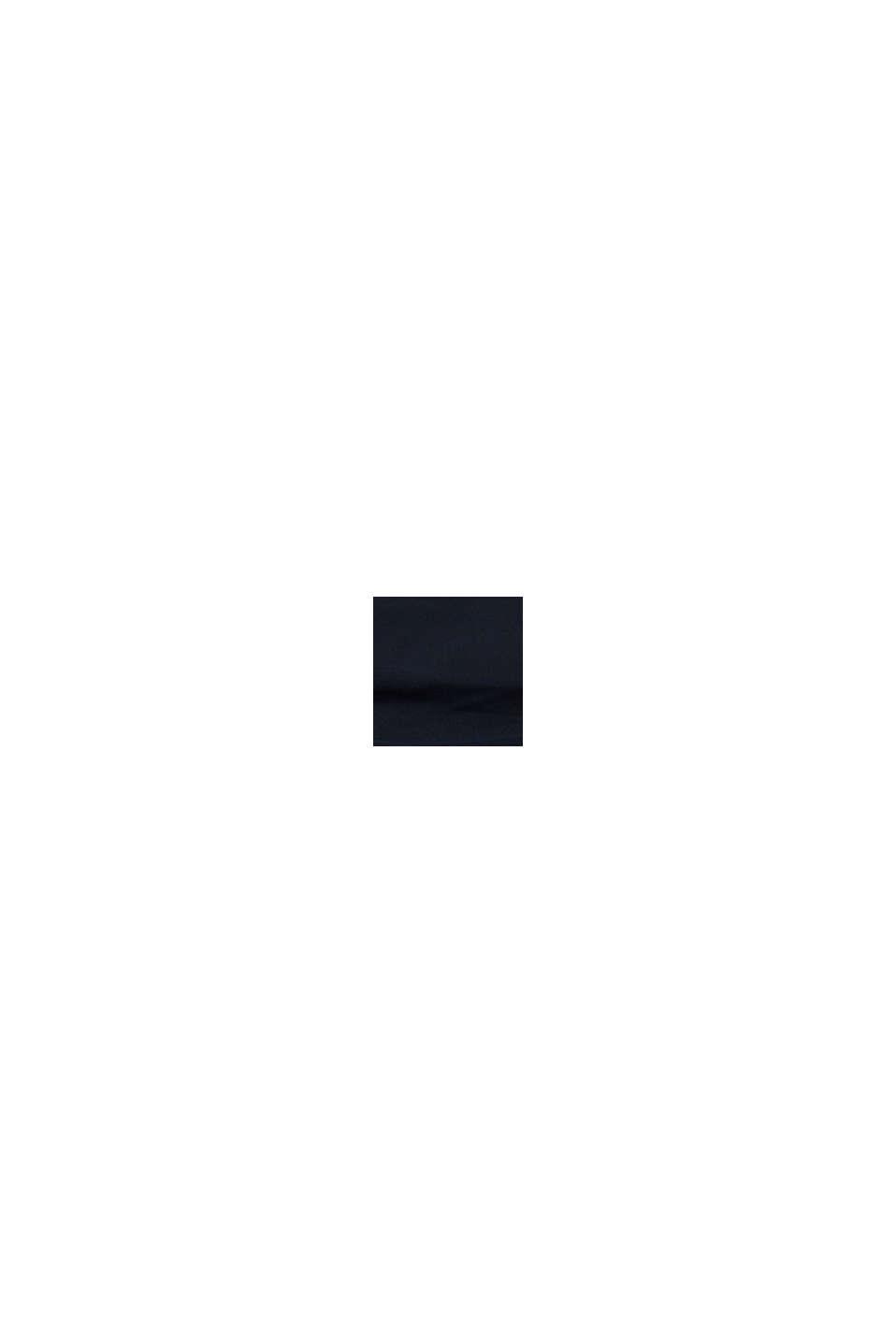 Braguita de cintura alta con frunces, BLACK, swatch