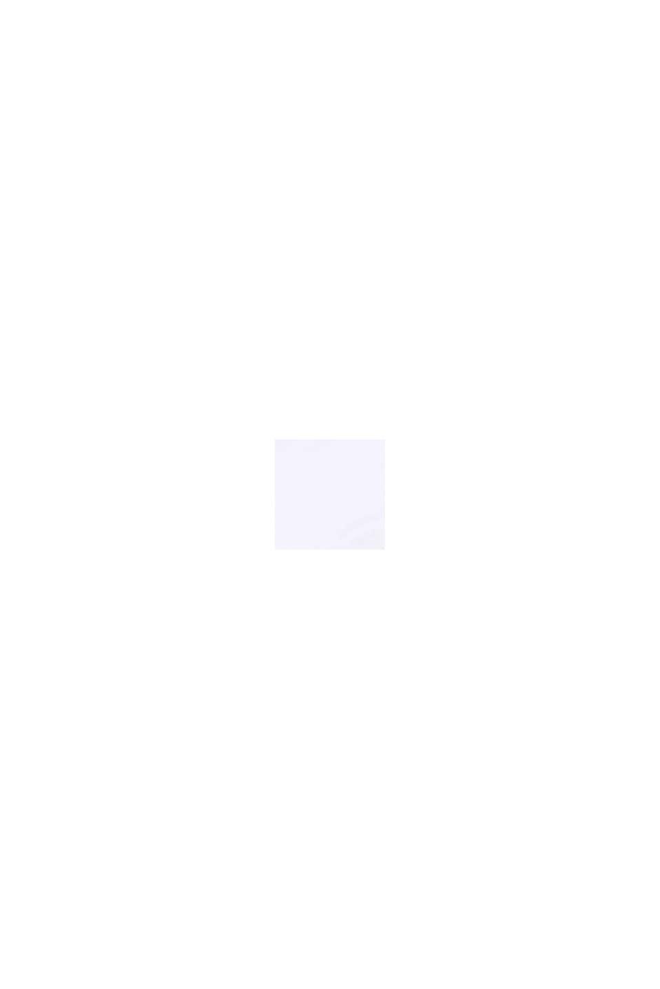 Uvatteret bøjle-BH med transparente striber, WHITE, swatch