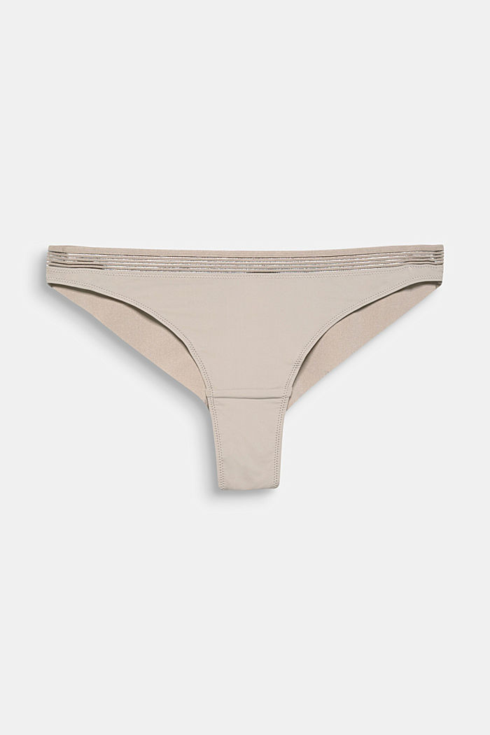Hipster briefs with seamless leg openings, LIGHT TAUPE, detail image number 0