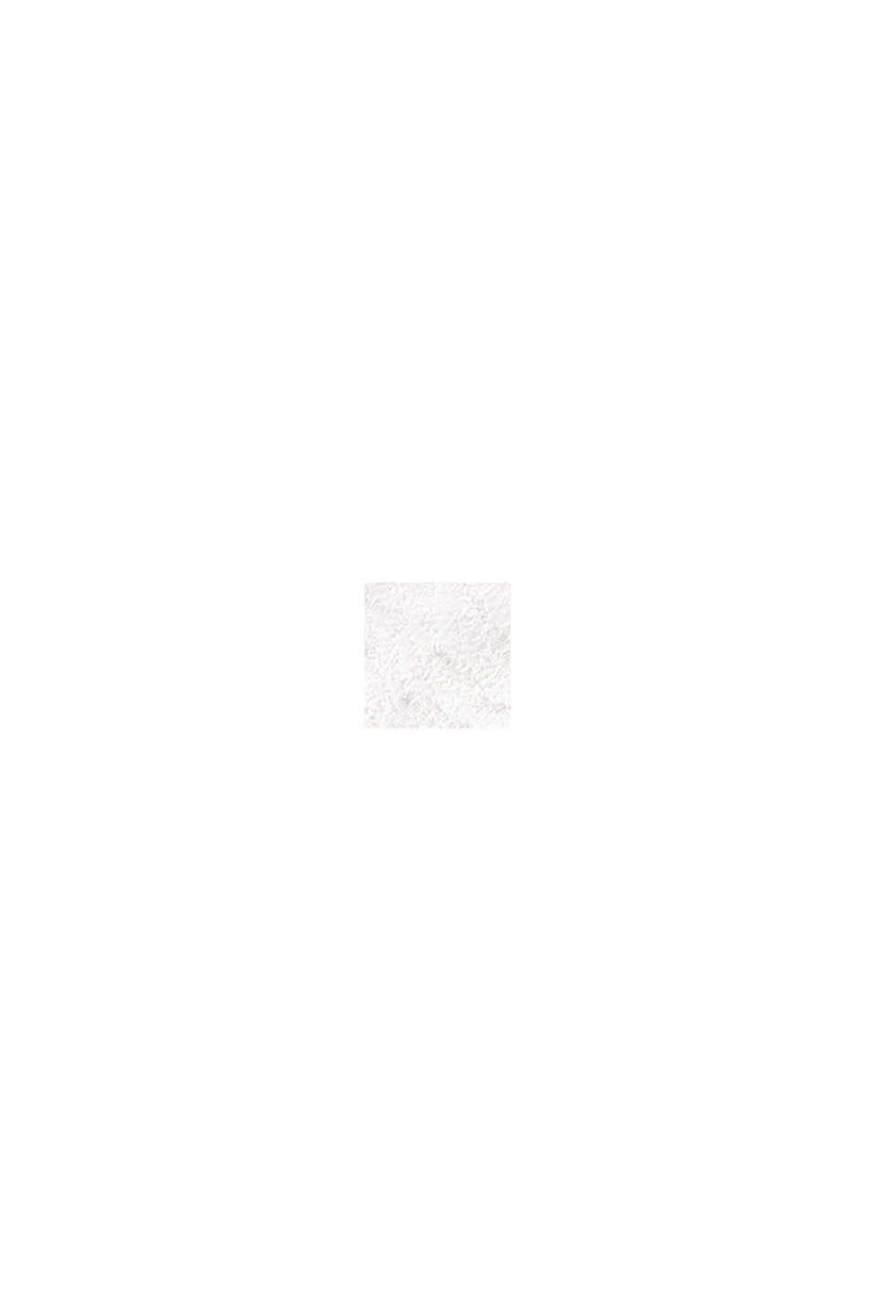 Sujetador de aros realizado en mezcla de tejidos, OFF WHITE, swatch