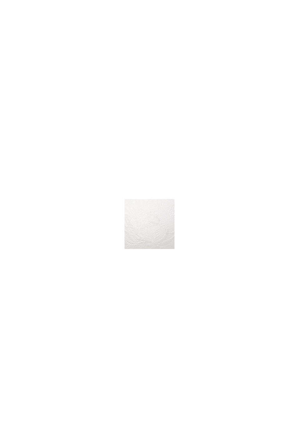 Gewatteerde beugel-bh van een materiaalmix, OFF WHITE, swatch