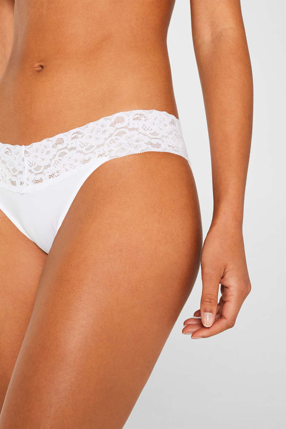 Bottoms, WHITE, detail image number 0