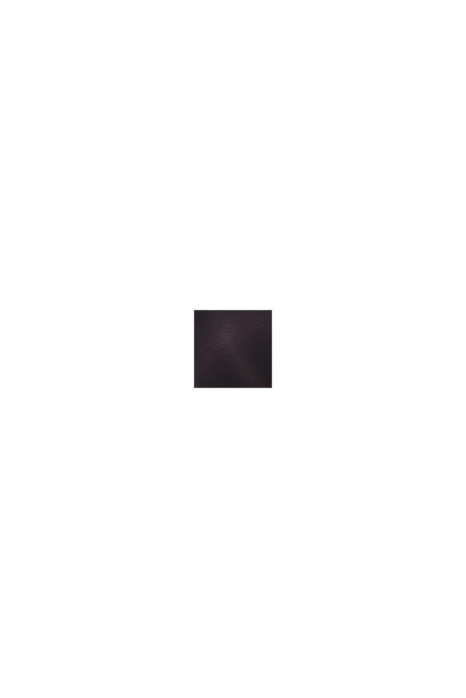 Vatteret bøjle-bh med blonder, BLACK, swatch