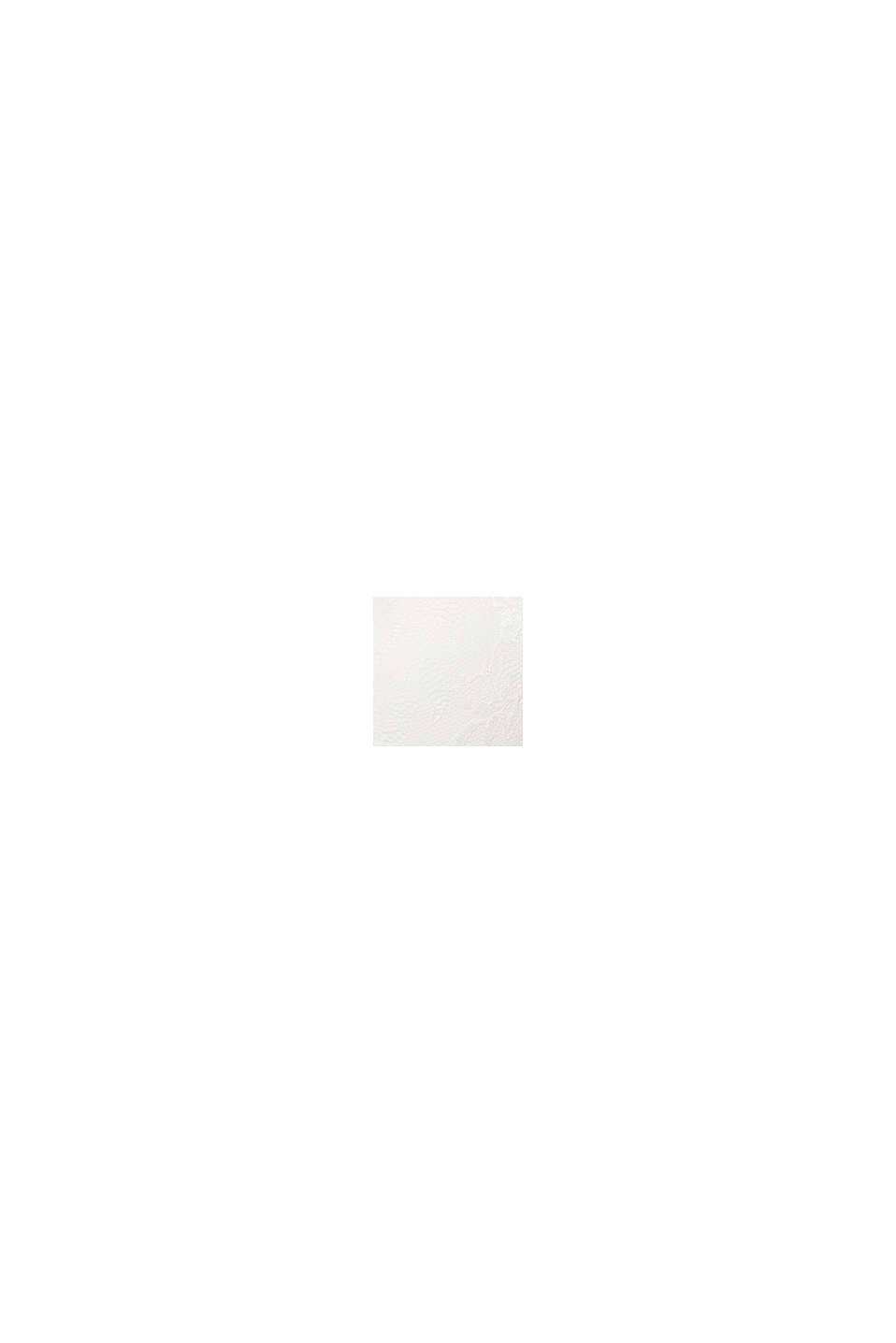 Vatteret bøjle-bh af materialemix, til store skålstørrelser, OFF WHITE, swatch