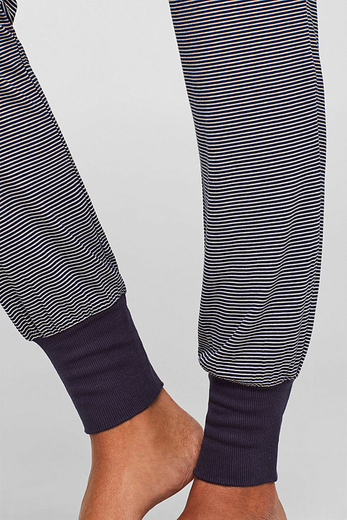 NAVY mix + match jersey trousers, NAVY, detail image number 2