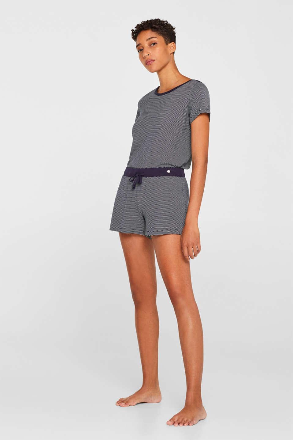 Nightpants, NAVY, detail image number 1