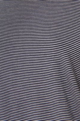 NAVY stretch jersey top, NAVY, detail