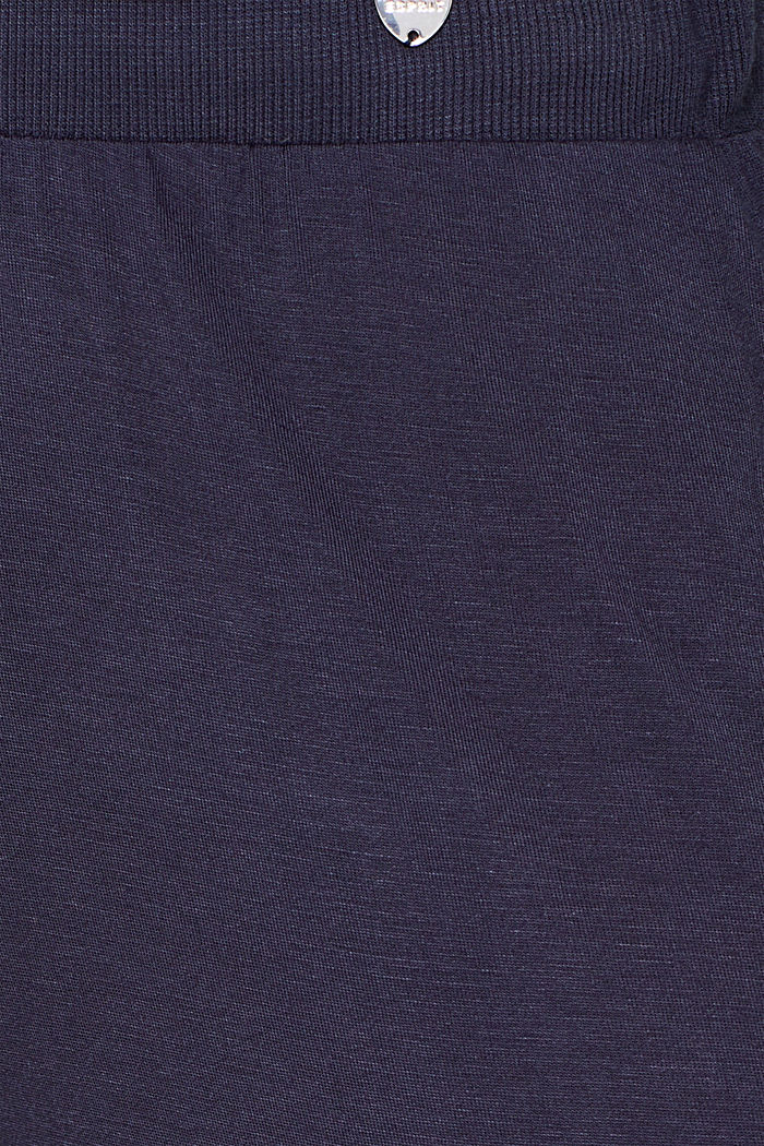 NAVY mix + match jersey trousers, NAVY, detail image number 4