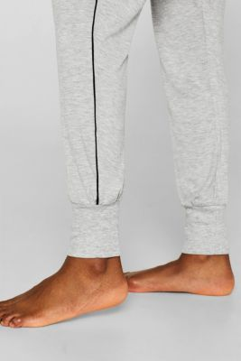 MELANGE mix + match jersey trousers, LIGHT GREY, detail