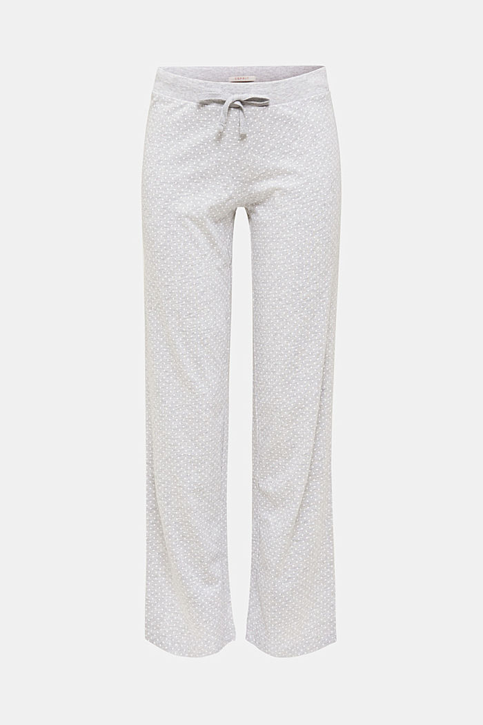 MODERN COTTON Mix+Match Hose, LIGHT GREY, detail image number 0