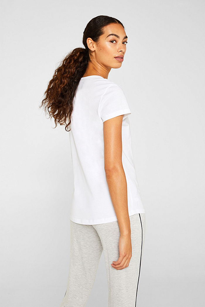 LIGHT GREY mix + match top, WHITE, detail image number 2