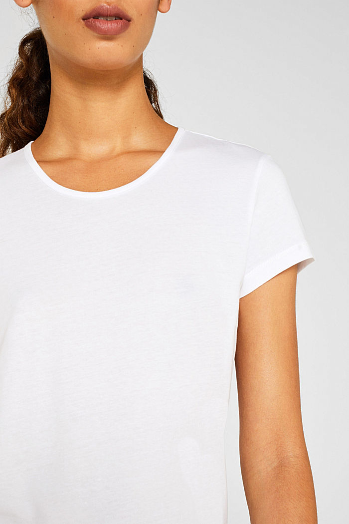 LIGHT GREY mix + match top, WHITE, detail image number 3