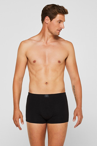 Stretch cotton hipster shorts in a triple pack