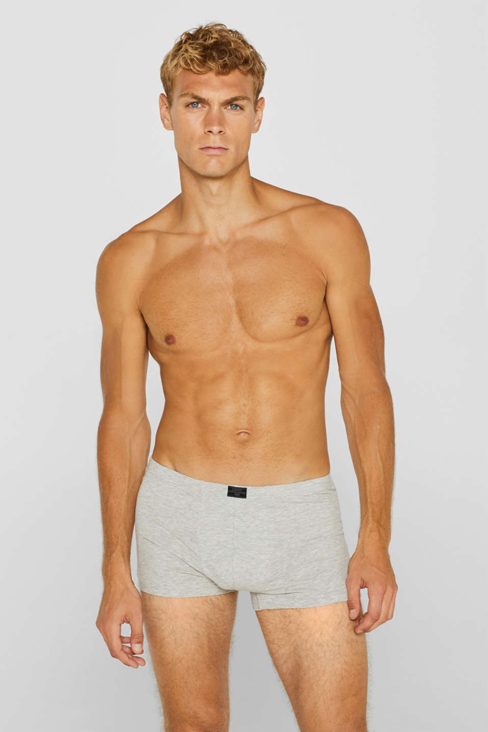 Esprit - Stretch cotton hipster shorts in a triple pack
