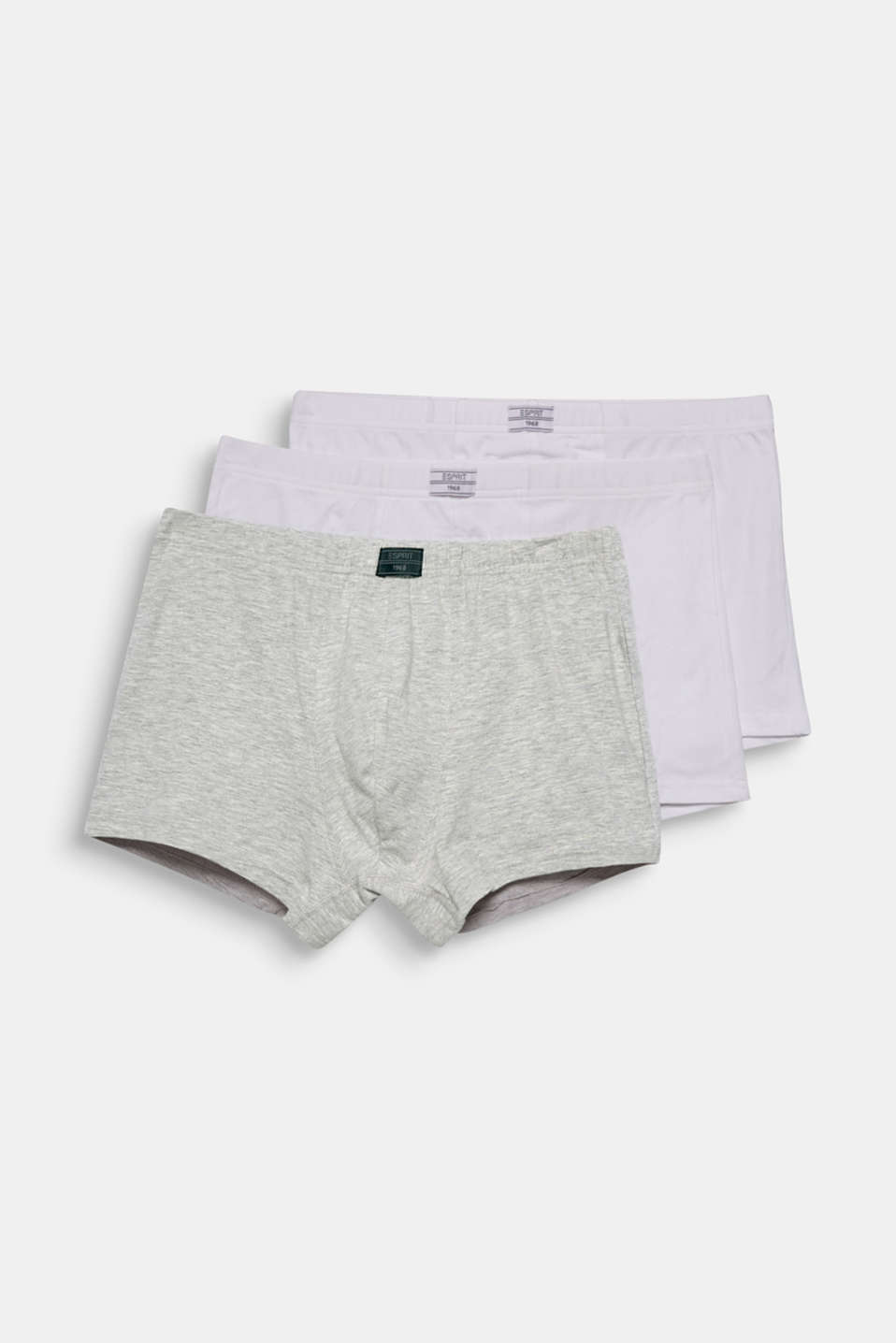 Esprit - Lot de 3 shortys en coton stretch