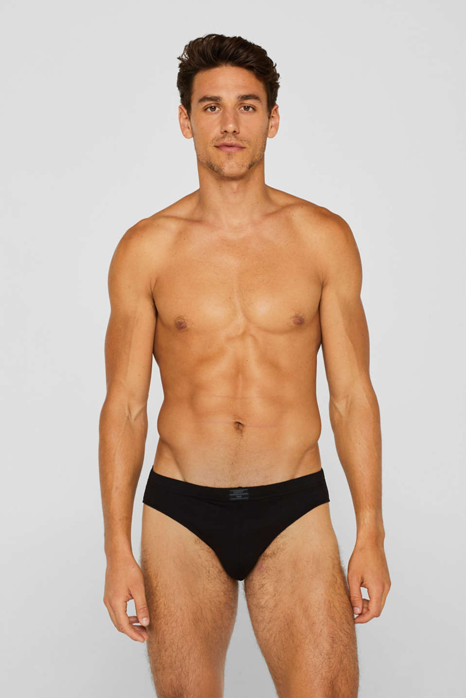 Esprit - Stretch cotton briefs in a triple pack